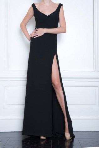 Celia Kritharioti Maxi black dress
