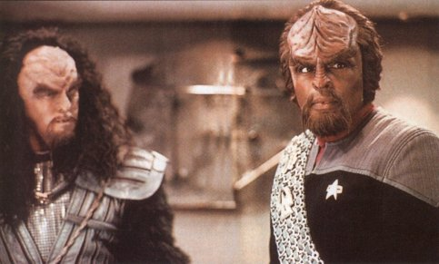 Klingons are futuristic Spartans
