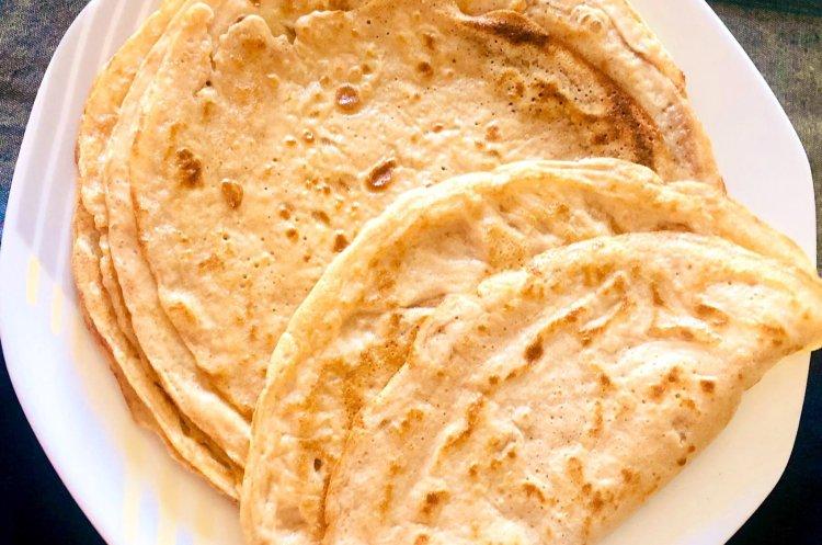 Cricket flour Keto crepes