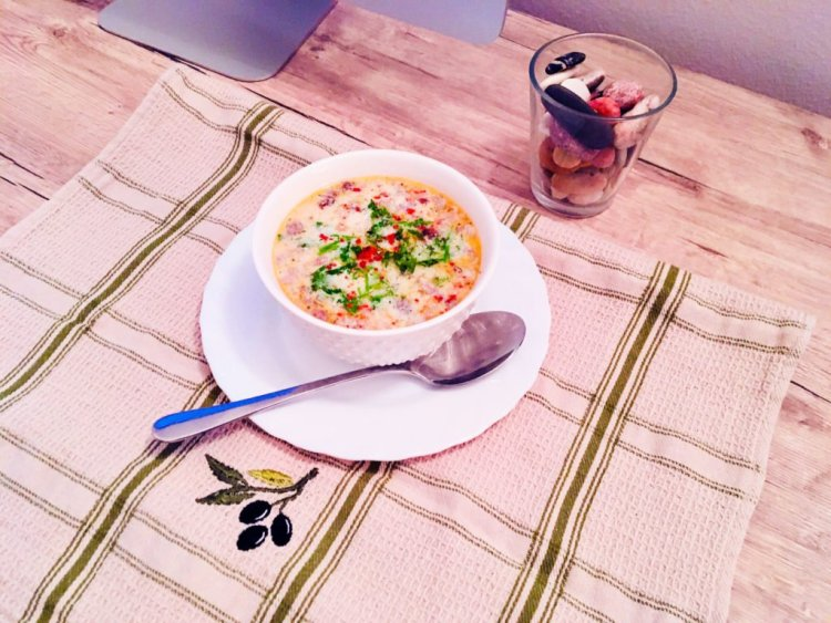 Keto Cream of mushroom soup - dairy-free version 2