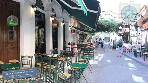 Café in Psiri district, Athens