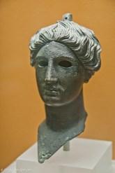Bronze head of Nike (Victory)
