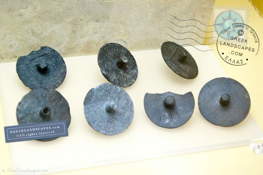 bronze ballots in the Agora Museum