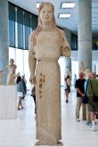 Kore statue named Peplophoros