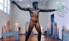 Zeus of Artemision at the Archaeological Museum of Athens