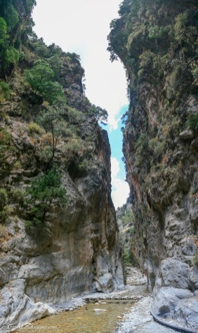 The Gates of Samaria gorge