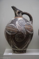Ceramic jug at the Heraklion Archaeological Museum