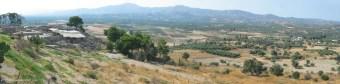 Messara plain and Phaistos archaeological site