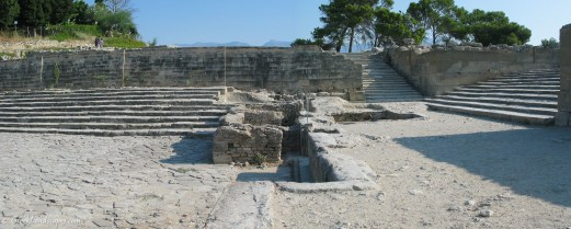 Phaistos staircases