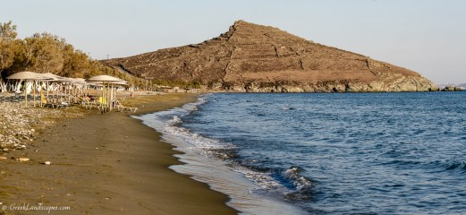 View of Agios Fokas beach
