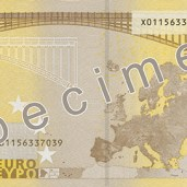 Photo of 200 Euro specimen