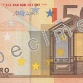 Photo of 50 Euro specimen