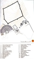 archaeological site plan