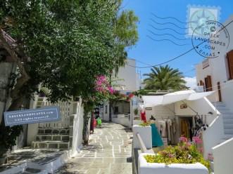Ios island town street