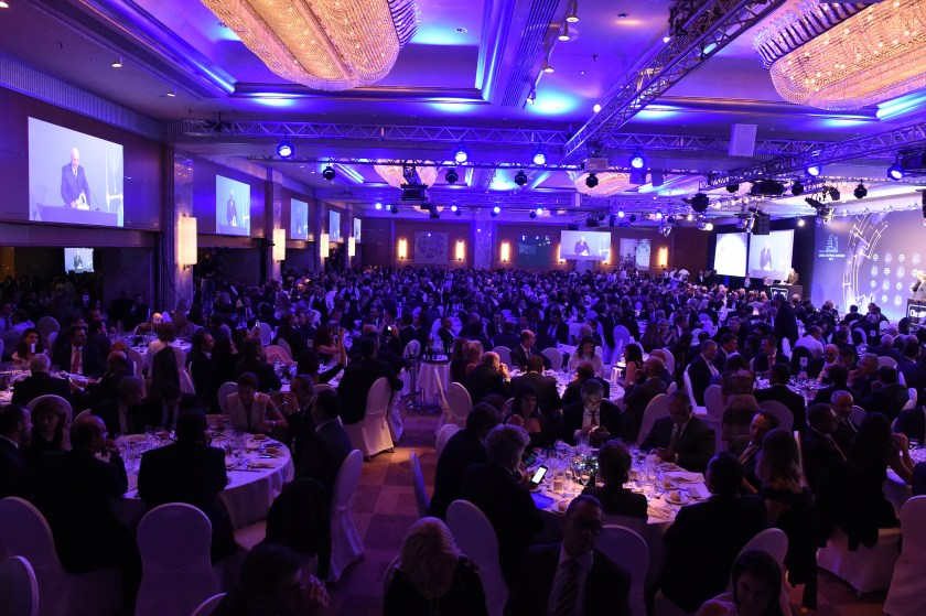 A record 1,200 guests attended this year's Greek Shipping Awards.