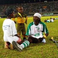 Πρωτάθλημα ποδοσφαίρου στη Sierra Leone για άτομα με δύναμη ψυχής..