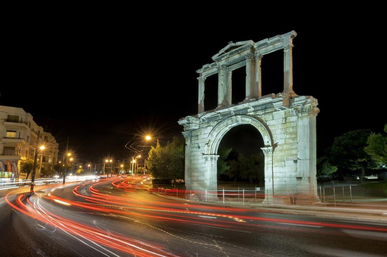 Athens Guide Hadrian Arch Greek Sun