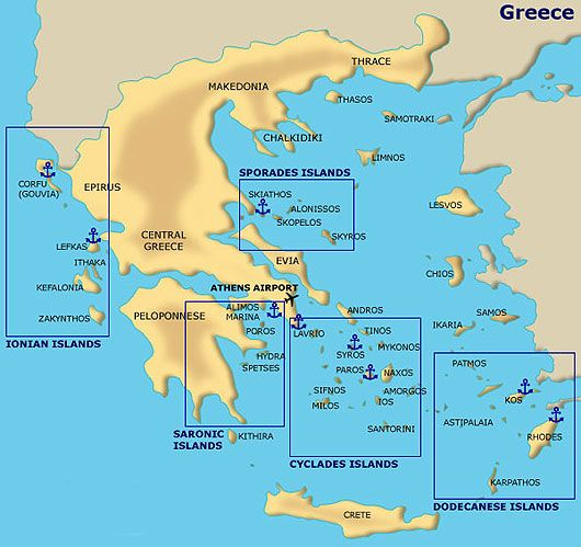 Greece Travel Guide - GreekSunSailingYachts