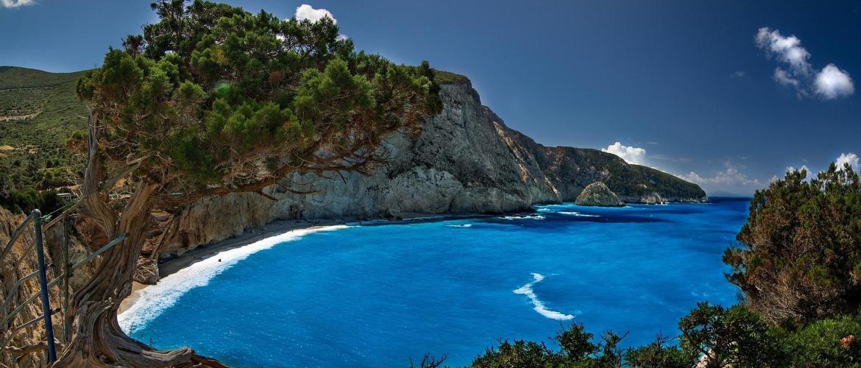 Yacht Charter Lefkada island Porto Katsiki 4 Sailing in Greece with GreekSunYachts