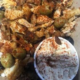 greek caterers meze sharing box