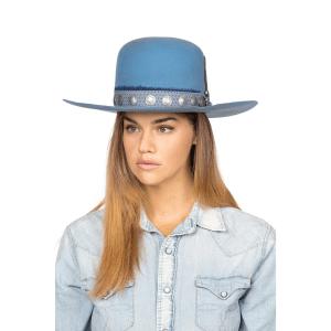 Greeley Hat Works Double D Ranch Buffalo Joe Powder Blue