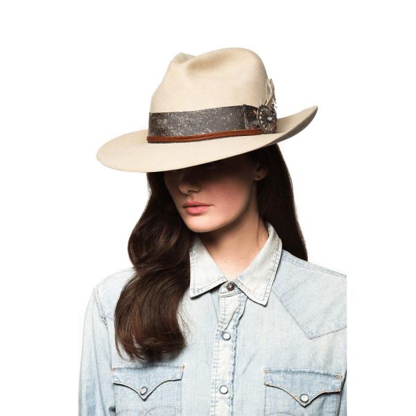 Greeley Hat Works Double D Ranch Django Sand