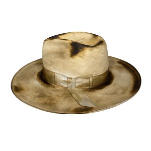 Greeley Hat Works Rainwater Hat Side View