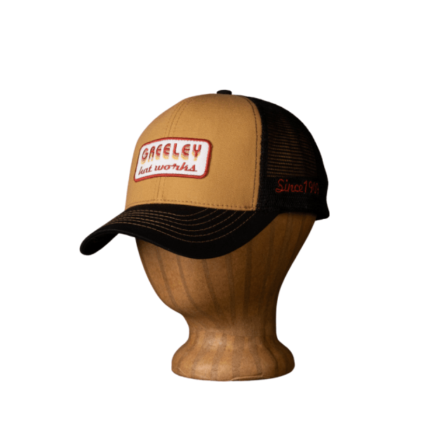 Greeley Hat Works Vintage Cap