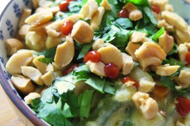 Easy pea vegan yellow curry recipe