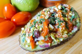Vegan stuffed Avocado recipe - Green Amsterdam