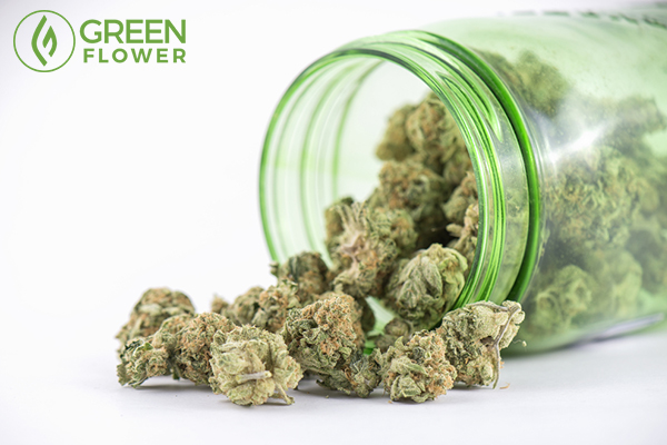cannabis out of bottle
