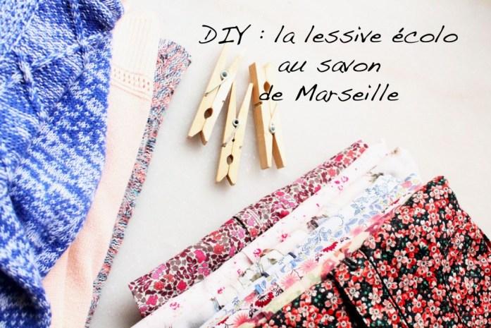 Lessive savon Marseille