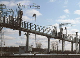 Railcar Loading Platforms by GREEN