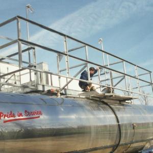 G-Raff Elevating Platform | Superior U.S. Made Fall Protection for Bulk Tankers