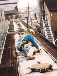 Multi-Span Lifelines Provide Safe Access and Continuous Fall Protection | Green-Mfg.com