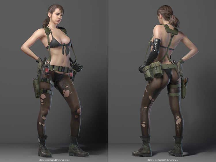 Quiet aus Metal Gear Solid