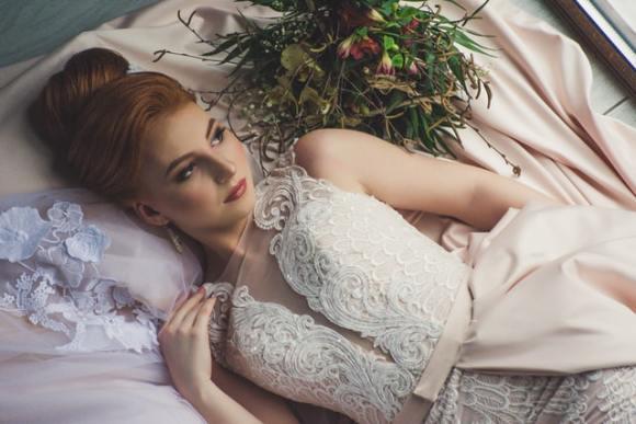 natürliche Schönheit für die Hochzeit