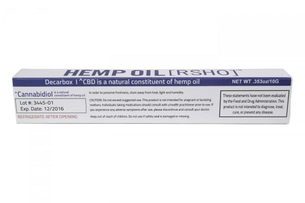REAL SCIENTIFIC HEMP OIL™ BLUE LABEL 10G CBD HEMP OIL (1700MG CBD)