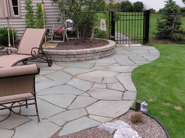 flagstone design and inspiration