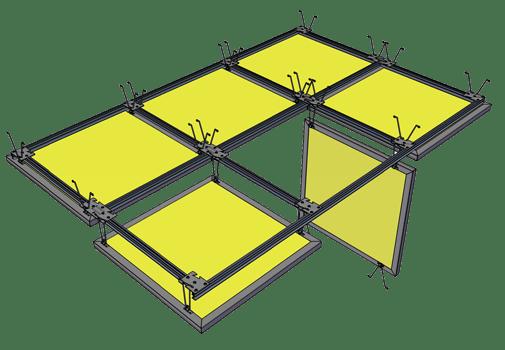 custom design ceiling tiles green acustica welcome to green acustica building materials llc environmentally friendly interiors