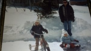 We even rode bikes in the winter when I was little!
