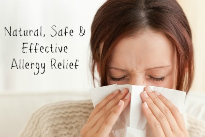 Natural, Safe & Effective Allergy Relief #ICanBreathe