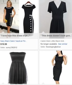 eBay collections Little Black Dress