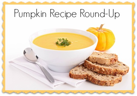 Pumpkin Recipe Round-Up #pumpkin #fall #recipe