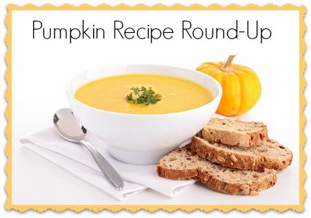 Pumpkin Recipe Round-Up #pumpkin #fall #recipe