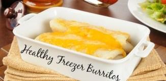 Healthy Freezer Burritos