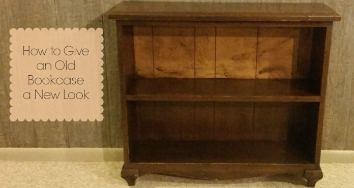 How to Give an Old Bookcase a New Look