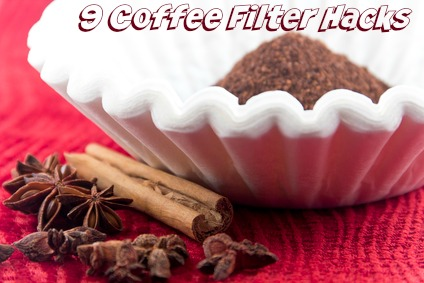 9 Coffee Filter Hacks