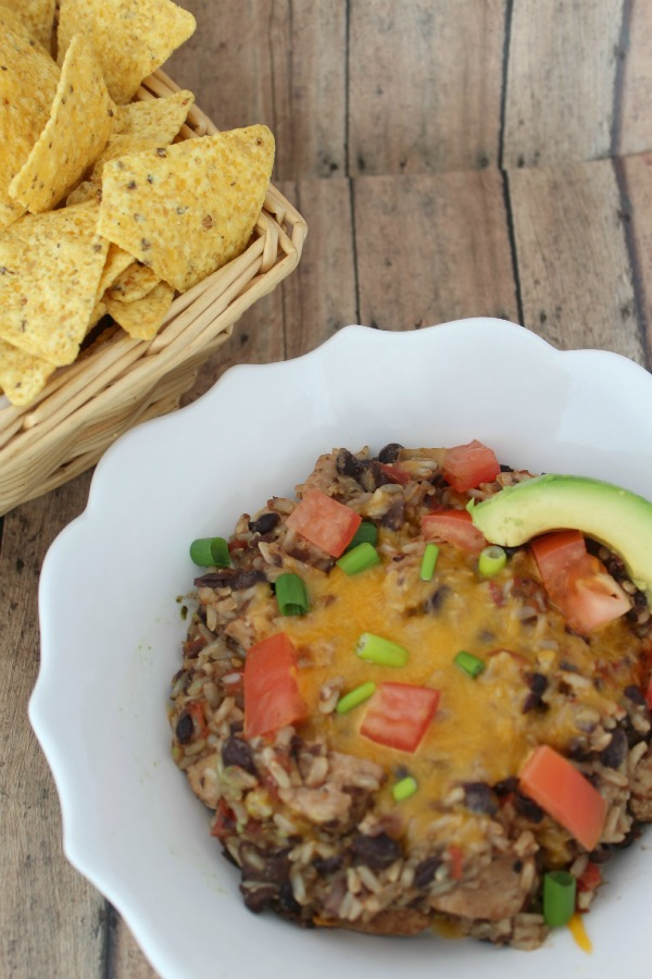 Easy and Healthy Burrito Bowl Dinner