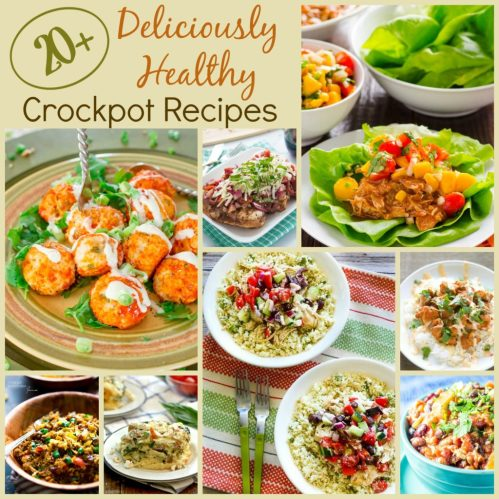 Deliciously Healthy Crockpot Recipes